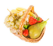 Mix of fruits Royalty Free Stock Images