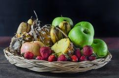 Mix fruits Royalty Free Stock Photos