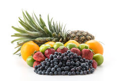 mix fruits Stock Photography