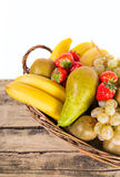 Mix of fruits Royalty Free Stock Photos