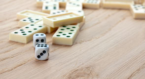 Mix of games Royalty Free Stock Photo