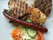 Mix grill Stock Photo