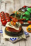 Mix of grilled vegetables royalty free stock image