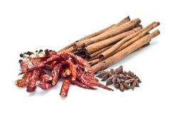Mix herb on white background Stock Photo