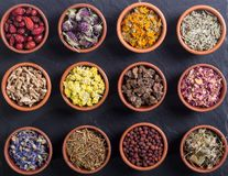 Mix of herbs Royalty Free Stock Image