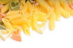 Mix of macaroni Stock Images