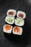 Mix maki Roll Royalty Free Stock Image