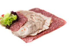 Mix of meat snack Stock Photos