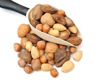 Mix of nut Stock Photography