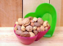 Mix nut Royalty Free Stock Photography