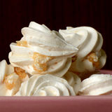 Mix Nut Meringues. Royalty Free Stock Images