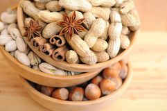 Mix nut Stock Images