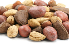 Mix nuts Stock Images