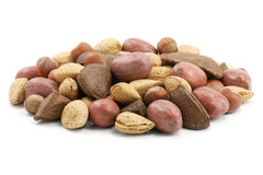 Mix nuts Stock Photo