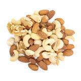 Mix of nuts Stock Photos
