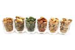 Mix nuts Stock Photography