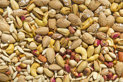 Mix nuts. As a appetize royalty free stock photography