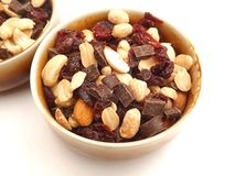 Mix of nuts Royalty Free Stock Images