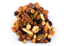 Mix nuts and dry fruits Royalty Free Stock Photos