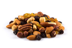 Mix nuts and dry fruits Royalty Free Stock Photography
