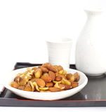 Mix nuts Stock Photos
