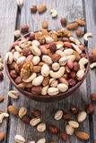Mix of nuts Royalty Free Stock Photography