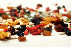 Free Mix Nuts Seeds And Dry Fruits Royalty Free Stock Photos - 48697958