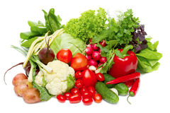 Mix Of Fresh Vegetables