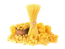 Mix Of Pasta Royalty Free Stock Image