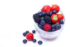 Mix Of Ripe, Juicy Berries Royalty Free Stock Images