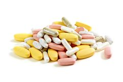 Mix Of Vitamins Stock Image