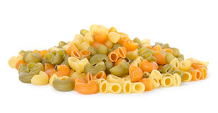 Mix of pasta Stock Photo