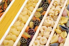 Mix of pasta Stock Image