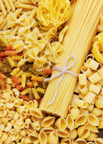 Mix of pasta Stock Photography