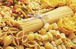 Mix of pasta Stock Photos