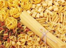 Mix of pasta Stock Image