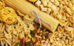 Mix of pasta Royalty Free Stock Photography