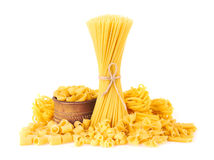 Mix of pasta Royalty Free Stock Photo