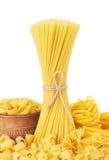 Mix of pasta Stock Photography