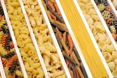 Mix  pasta Royalty Free Stock Image