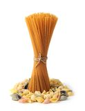 Mix pasta Royalty Free Stock Photography