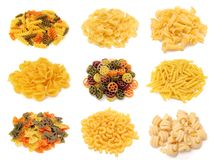 A group of pasta Royalty Free Stock Images