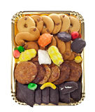 Mix of pastries and cookies Stock Images