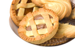 Mix of pastry Stock Photography