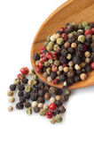 Mix of pepper corns Royalty Free Stock Image
