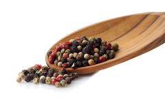 Mix of pepper corns Royalty Free Stock Images