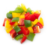 Mix pepper isolated Royalty Free Stock Image
