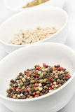 Mix  pepper Stock Images