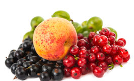 Mix ripe berries Royalty Free Stock Image