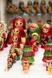 Mix of Russian Babushkas Royalty Free Stock Photo